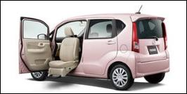 DAIHATSU MOVE FRONT SEAT ACCESSIBLE VEHICLE: LIFTUP TYPE