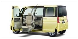 DAIHATSU TANTO FRONT SEAT ACCESSIBLE VEHICLE: LIFTUP TYPE