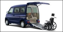 DAIHATSU ATRAI WHEELCHAIR ACCESSIBLE