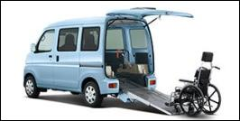 DAIHATSU HIJET WHEELCHAIR ACCESSIBLE