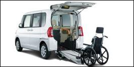 DAIHATSU TANTO WHEELCHAIR ACCESSIBLE