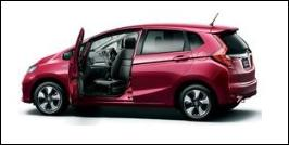 HONDA FIT FRONT SEAT ACCESSIBLE VEHICLE: ROTATE TYPE