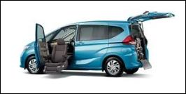 HONDA FREED FRONT SEAT ACCESSIBLE VEHICLE: LIFTUP TYPE