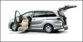HONDA ODYSSEY FRONT SEAT ACCESSIBLE VEHICLE: LIFTUP TYPE