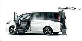 HONDA STEP WGN FRONT SEAT ACCESSIBLE VEHICLE: LIFTUP TYPE