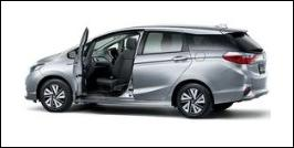 HONDA SHUTTLE FRONT SEAT ACCESSIBLE VEHICLE: ROTATE TYPE