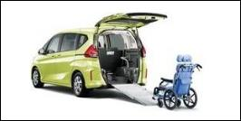 HONDA FREED WHEELCHAIR VAN
