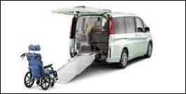 HONDA STEP WGN WHEELCHAIR VAN