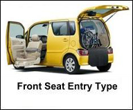 SUZUKI FRONT SEAT ACCESSIBLE CAR FOR HANDICAP PERSON