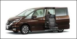 NISSAN SERENA MIDDLE SEAT ACCESSIBLE VEHICLE: LIFTUP TYPE