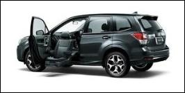 SUBARU FORESTER FRONT SEAT ACCESSIBLE VEHICLE: LIFTUP TYPE