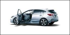 SUBARU IMPREZA SPORT FRONT SEAT ACCESSIBLE VEHICLE: LIFTUP TYPE