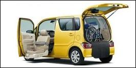 SUZUKI WAGON R FRONT SEAT ACCESSIBLE VEHICLE: LIFTUP TYPE
