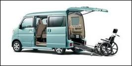 SUZUKI EVERY WAGON WHEELCHAIR ACCESSIBLE