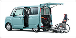 SUZUKI SPACIA WHEELCHAIR ACCESSIBLE
